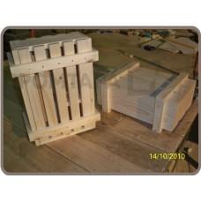 Деревянный ящик (тара) для транспортировки и хранения товара или груза