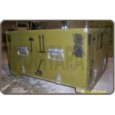 Военный ящик с маркировкой