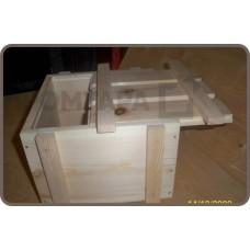Ящик деревянный с выдвижной крышкой
