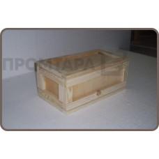 Ящик деревянный удлиненный