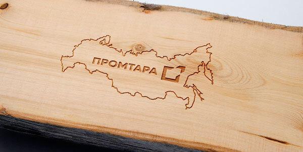 ООО Промтара логотип резка дерева ЧПУ