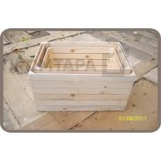 Деревянные ящики для фруктов и овощей «Матрешка»