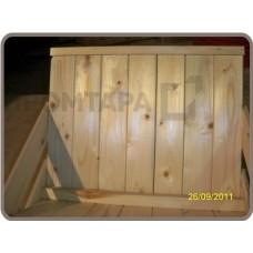 Деревянная подставка для винно-водочной продукции