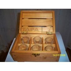 Сувенирный ящик для стопок