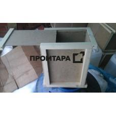 Оргалитовый ящик с выдвижной крышкой 2